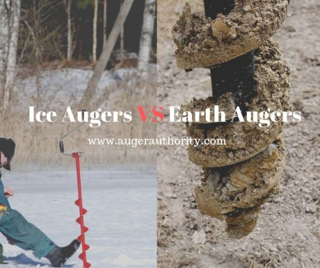 ice auger vs earth auger