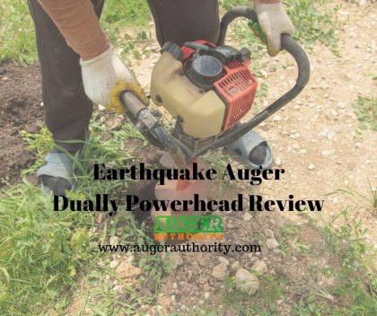 earthquake auger