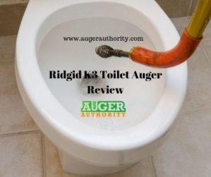 ridgid K3 toilet auger