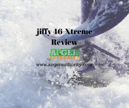 jiffy ice xtreme auger 46x