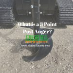 What is a 3 Point Post Auger?