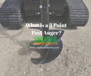 what is a 3 point auger