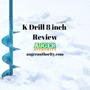 K drill ice auger review