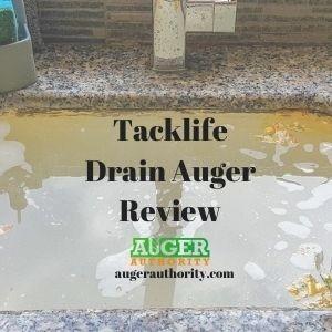 tacklife drain auger