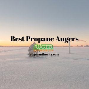 best propane auger