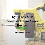 Ryobi Drain Auger 18 Volt One