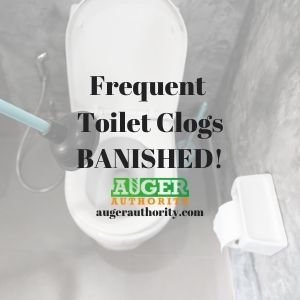 frequent toilet clogs