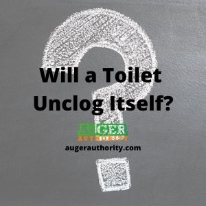 will a toilet unclog itself
