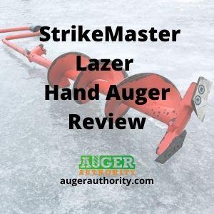 Strikemaster lazer hand auger review